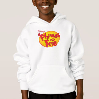 Phineas and Ferb Logo Disney Hoodie
