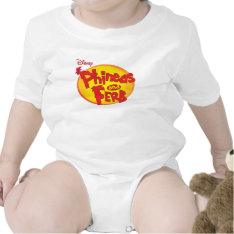 Phineas and Ferb Logo Disney Romper at Zazzle