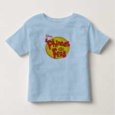Phineas and Ferb Logo Disney Tee Shirts at Zazzle