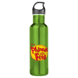Water Bottle (24 oz) with Disney Logos design