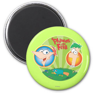 Phineas and Ferb Magnet