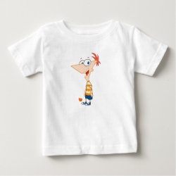 Baby Fine Jersey T-Shirt with Phineas Flynn design