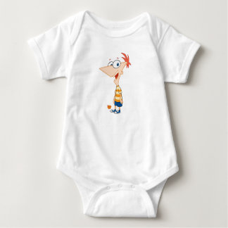 Phineas and Ferb Phineas Smiling Disney Infant Creeper