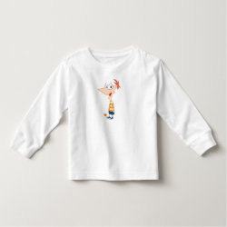 Toddler Long Sleeve T-Shirt with Phineas Flynn design