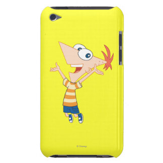 Phineas Jumping Barely There iPod Cover