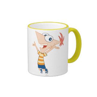 Phineas Jumping Ringer Mug