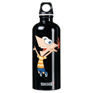 Phineas Jumping Water Bottle