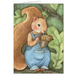 Phineas Nut - Squirrel Greeting Card