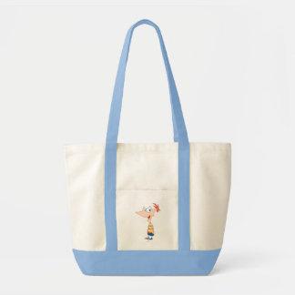 Phineas Pose Tote Bag