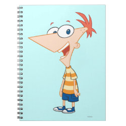 Photo Notebook (6.5' x 8.75', 80 Pages B&W) with Phineas Flynn design