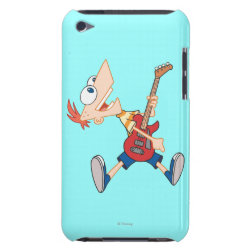 Case-Mate iPod Touch Barely There Case with Rock 'n Roll with Phineas Flynn and Guitar design