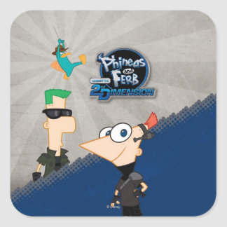 Phineas y Ferb - 2.o Colcomania Cuadrada