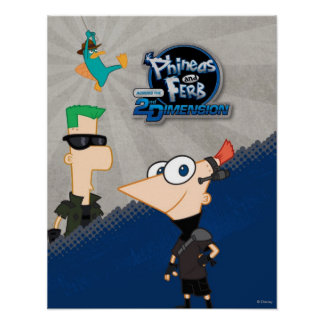 Phineas y Ferb - 2.o Póster