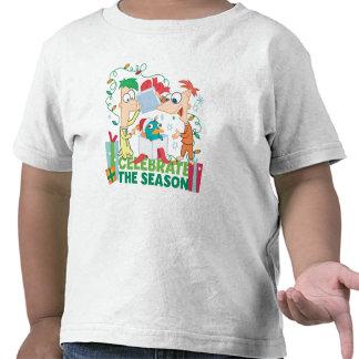 Phineas y Ferb celebran la estación Camiseta