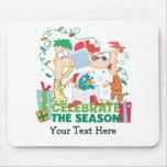 Phineas y Ferb celebran la estación Tapetes De Raton