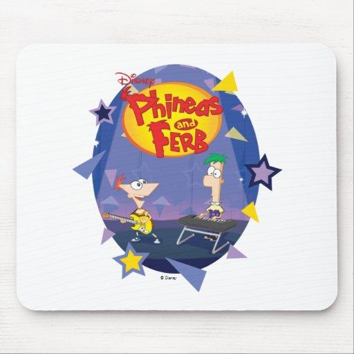 Phineas y Ferb Disney Alfombrilla De Raton