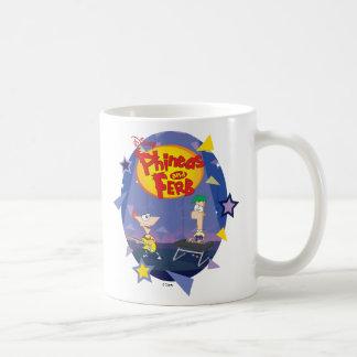 Phineas y Ferb Disney Taza De Café
