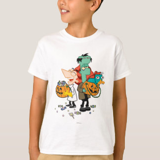 Phineas y Ferb Halloween Playera