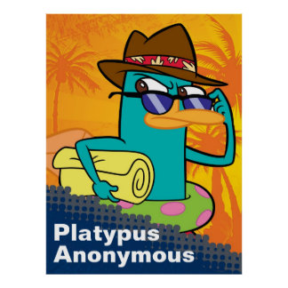 Phineas y Ferb - personalizable del agente P Póster