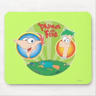 Phineas y Ferb Tapetes De Raton