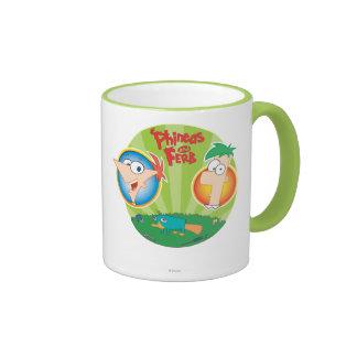 Phineas y Ferb Tazas