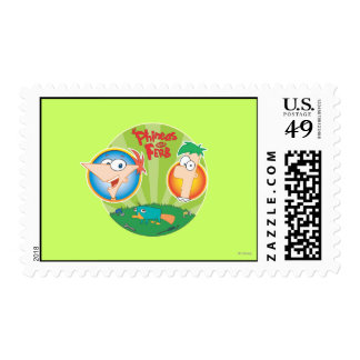 Phineas y Ferb Timbres Postales