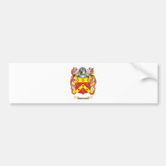 Phinney Coat of Arms (Family Crest) Bumper Sticker
