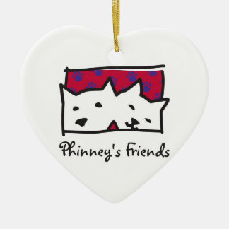 Phinney s Friends Christmas Ornament