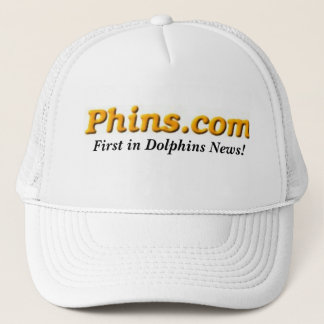 Phins.com, First in Dolphins News! Trucker Hat