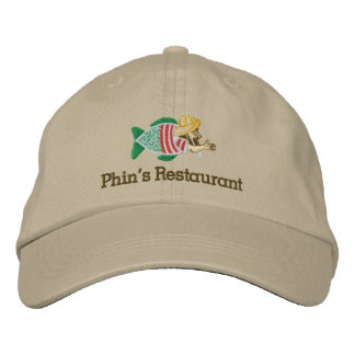 Phin's Embroidered Khaki Hat