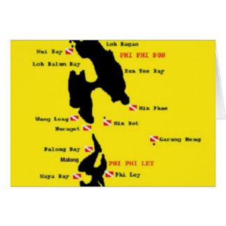 PhiPhi Dive Sites - Big Card