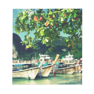 Phiphi Island boats Notepad