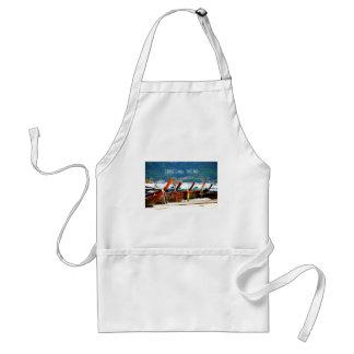 Phiphiisland postcard edition adult apron