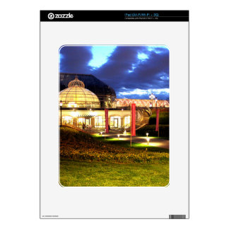 Phipps Conservatory at Night Skins For iPad