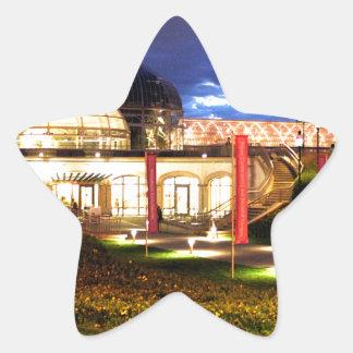 Phipps Conservatory at Night Star Sticker