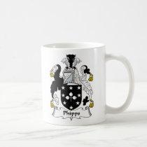 Phipps Family Crest Mug