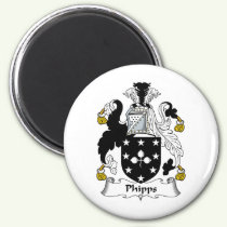 Phipps Family Crest Magnet