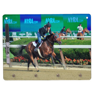 Phipps Stables at Belmont Park Dry Erase Board With Keychain Holder