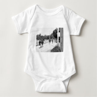 Phipps Thoroughbreds at Saratoga Baby Bodysuit