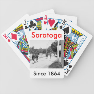 Phipps Thoroughbreds at Saratoga Bicycle Playing Cards