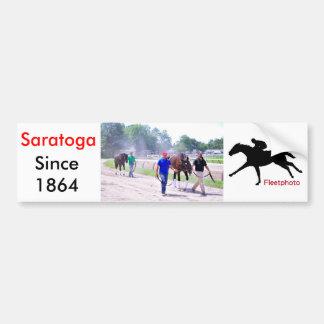 Phipps Thoroughbreds at Saratoga Car Bumper Sticker