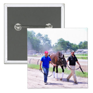 Phipps Thoroughbreds at Saratoga Pinback Button