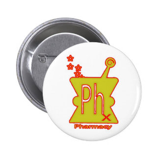 Phish Inspired Pharmacy Doctor Recommended Pinback Button