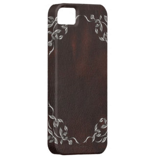 phisticated brown Western Leather iphone5 case