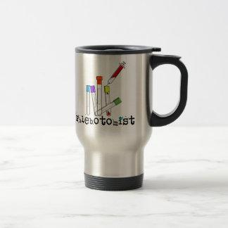 Phlebotomist Artsy Blood Tubes Design Gifts Travel Mug