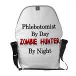 Phlebotomist/cazador del zombi bolsa de mensajería