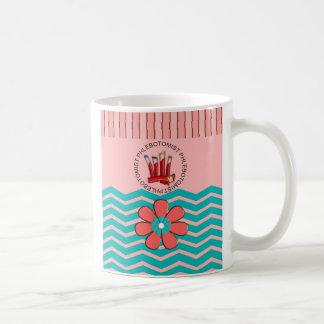 Phlebotomist Chevron Design Coffee Mug
