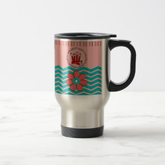 Phlebotomist Chevron Design Travel Mug
