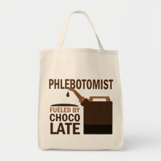Phlebotomist (Funny) Gift Grocery Tote Bag