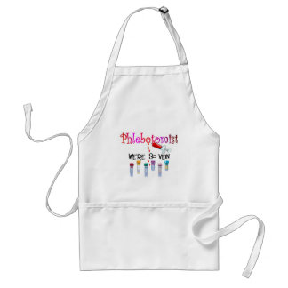 Phlebotomist gifts adult apron